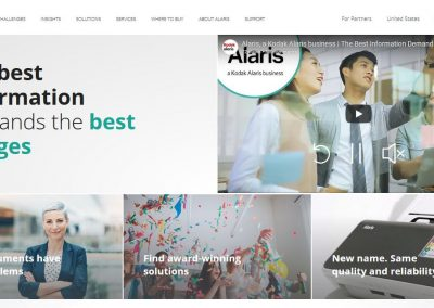 Alaris_homepage