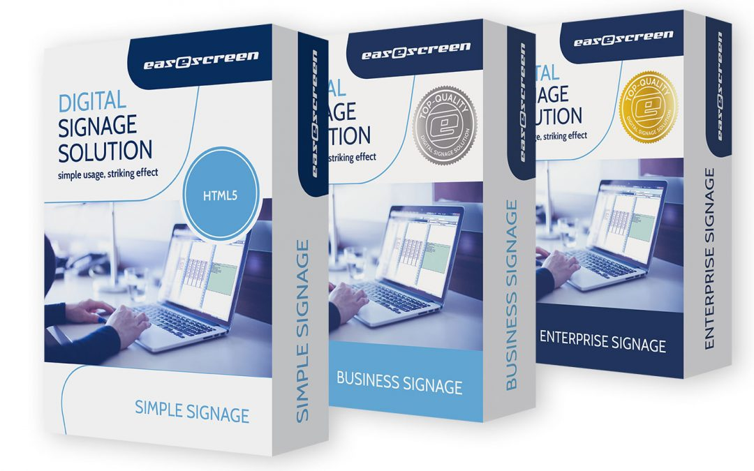 Neue Digital Signage Generation: easescreen X18